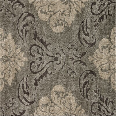 Enchant Beige/Smoke Area Rug Rug Size: Square 77