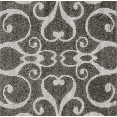 Glastonbury Gray Area Rug Rug Size: Square 77