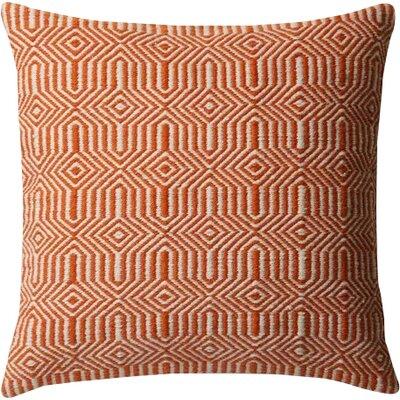 Outdoor Throw Pillow Color: Orange