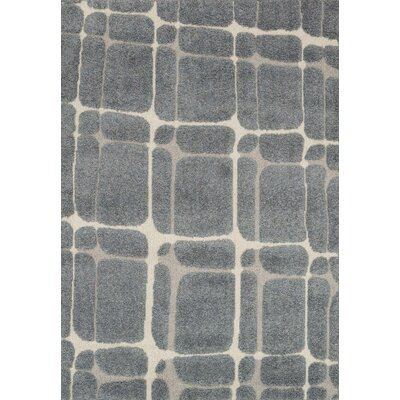 Bigham Slate/Sand Area Rug Rug Size: Rectangle 53 x 77