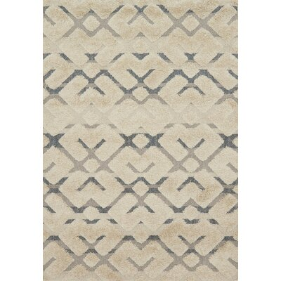 Bigham Sand Area Rug Rug Size: Rectangle 53 x 77