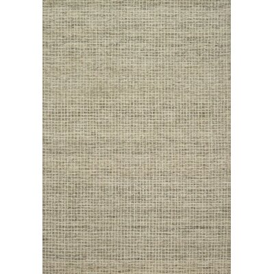 Bourque Hand-Hooked Wool Granite Area Rug Rug Size: Rectangle 79 x 99