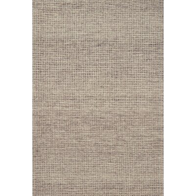 Bourque Hand-Hooked Wool Smoke Area Rug Rug Size: Rectangle 5 x 76