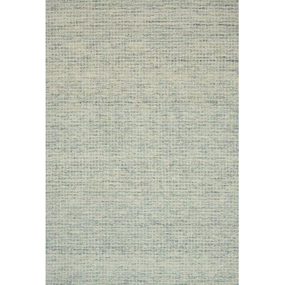 Bourque Hand-Hooked Wool Spa Area Rug Rug Size: Rectangle 12 x 15