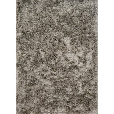 Elliana Shag Hand-Tufted Taupe Area Rug Rug Size: Rectangle 36 x 56
