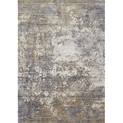 Bourquin Granite/Stone Area Rug Rug Size: Rectangle 6'7