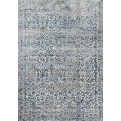 Jepsen Sky/Stone Area Rug Rug Size: Rectangle 53 x 78