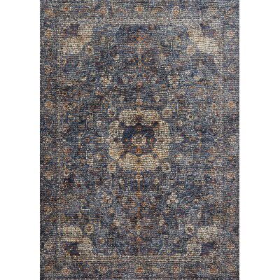 Dietrick Blue Area Rug Rug Size: Rectangle 67 x 94