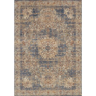 Dietrick Ivory/Beige Area Rug Rug Size: Rectangle 5 x 8