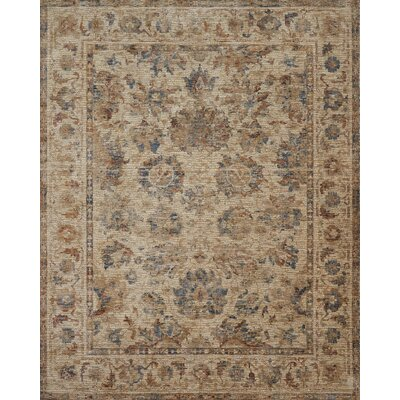 Dietrick Natural Area Rug Rug Size: Rectangle 96 x 126
