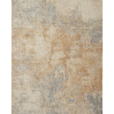 Dietrick Beige Area Rug Rug Size: Rectangle 37 x 52