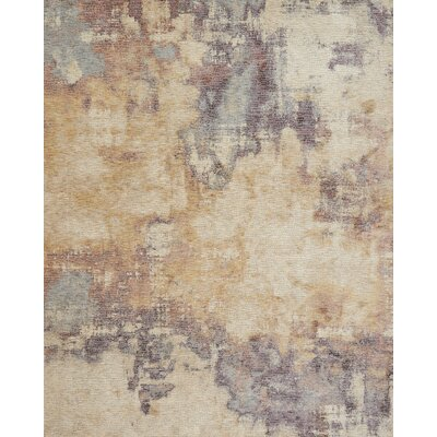 Dietrick Beige/Berry Area Rug Rug Size: Rectangle 12 x 15
