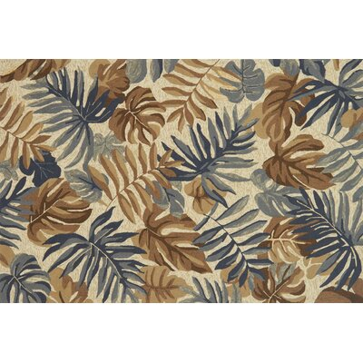 Monadnock Hand-Hooked Camel/Gray Area Rug Rug Size: Rectangle 5 x 76