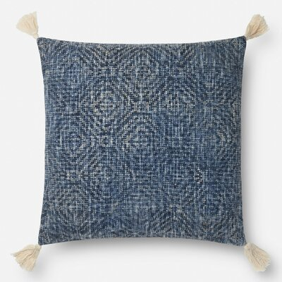 Bourgeois Cotton Throw Pillow Type: Pillow, Fill Material: Down/Feather