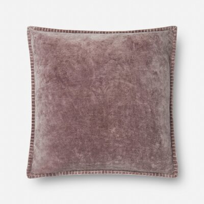 Finnerty Cotton Throw Pillow Color: Purple