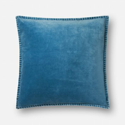 Finnerty Cotton Throw Pillow Color: Peacock