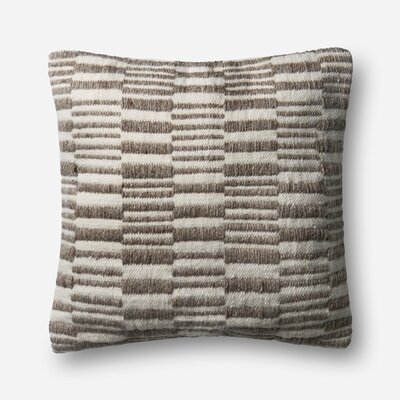 Ligon Outdoor Throw Pillow Type: Pillow Cover, Fill Material: No Fill