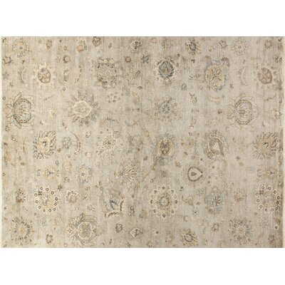 Kehoe Hand-Knotted Silver Area Rug
