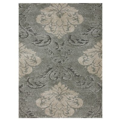 Enchant Beige/Smoke Area Rug Rug Size: 53 x 77
