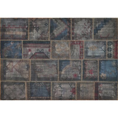 Beymen Hand-Woven Gray Area Rug Rug Size: Rectangle 710 x 11