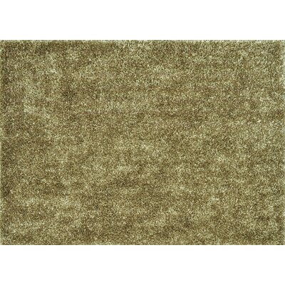 Carrera Shag Hand-Tufted Beige Area Rug Rug Size: Rectangle 5 x 76