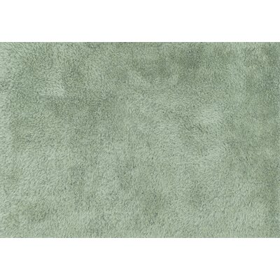Fresco Hand-Tufted Green Area Rug Rug Size: 36 x 56
