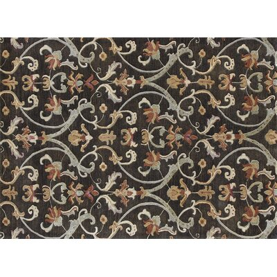 Domaingue Hand-Tufted Charcoal Area Rug Rug Size: Rectangle 710 x 11