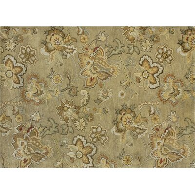 Fulton Hand-Tufted Sage Area Rug Rug Size: 5 x 76