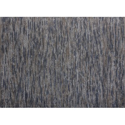 Kehl Hand-Woven Blue/Gray Area Rug Rug Size: Rectangle 5 x 76