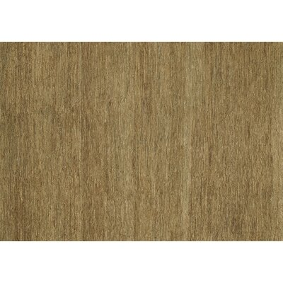 Turin Too Hand-Woven Brown/Tan Area Rug Rug Size: Rectangle 3'6