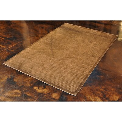 Westley Hand-Woven Brown Area Rug Rug Size: 56 x 86