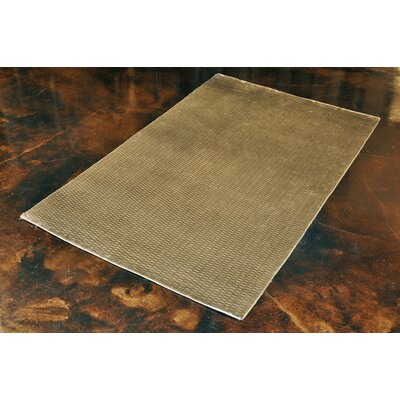 Zaragoza Hand-Woven Gray Area Rug Rug Size: Rectangle 56 x 86