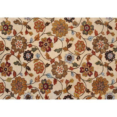 Willow Hand-Tufted Ivory Area Rug Rug Size: 710 x 11