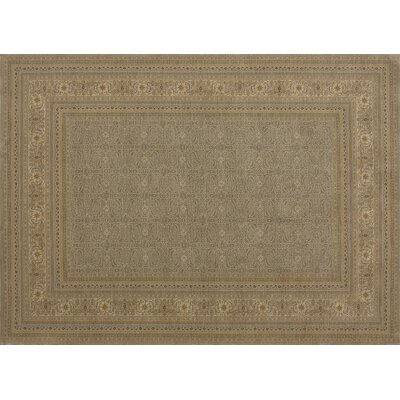 Stanley Brown/Tan Area Rug Rug Size: 2 x 3