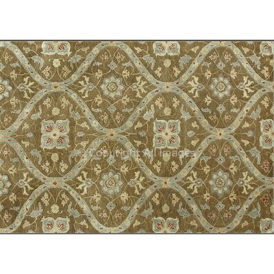 Yeung Hand-Tufted Mocha Area Rug Rug Size: Rectangle 5 x 76