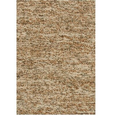Clyde Hand Woven Wool Beige Area Rug Rug Size: 36 x 56