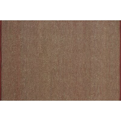 Turgeon Hand-Woven Red/Green Area Rug Rug Size: Rectangle 710 x 11