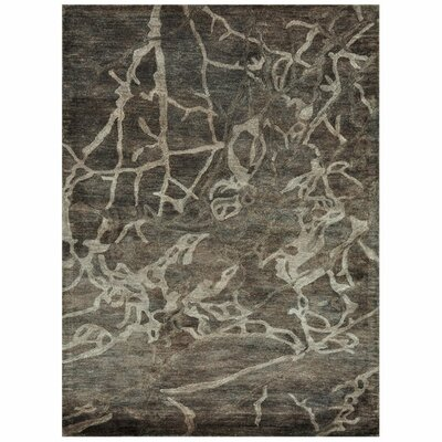 Hollen Hand-Tufted Brown Area Rug Rug Size: Rectangle 710 x 11