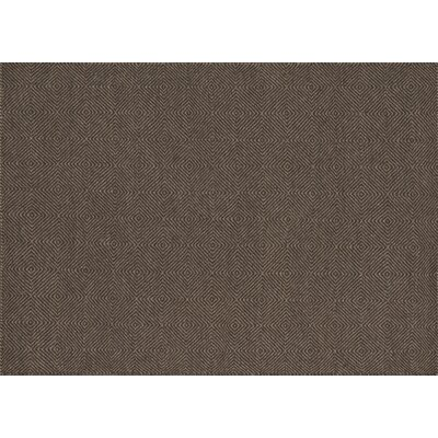 Queens Hand-Woven Brown Area Rug Rug Size: Rectangle 36 x 56