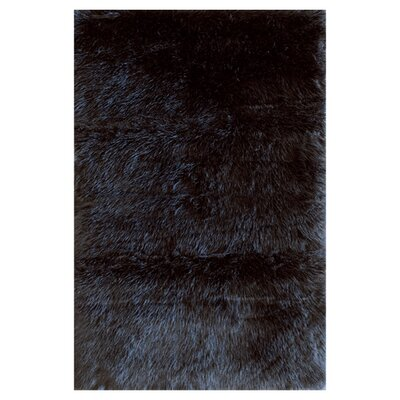 Danso Black Area Rug Rug Size: 5 x 76