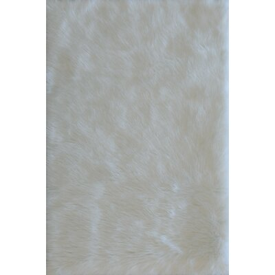 Danso Ivory Area Rug Rug Size: 7'6