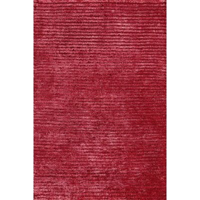 Electra Hand-Knotted Red Area Rug