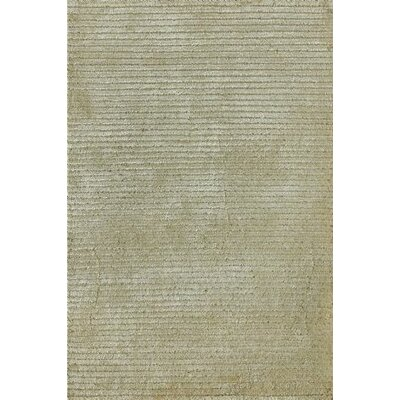 Electra Hand-Knotted Ivory Area Rug Rug Size: 56 x 86