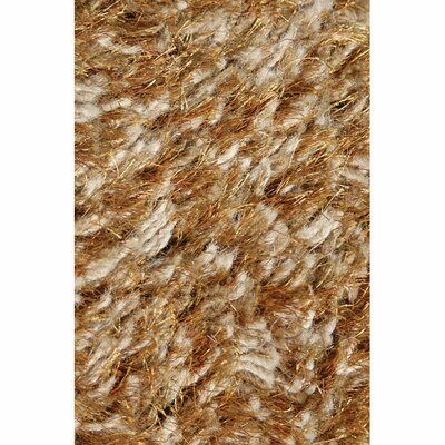Turco Hand-Woven Faux Fur Brown/Tan Area Rug Rug Size: Rectangle 5 x 76