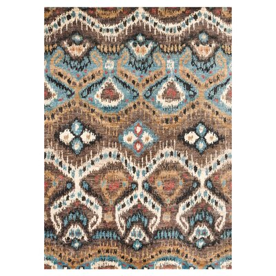 Zakrzewski Hand-Knotted Taupe Area Rug Rug Size: Rectangle 96 x 136