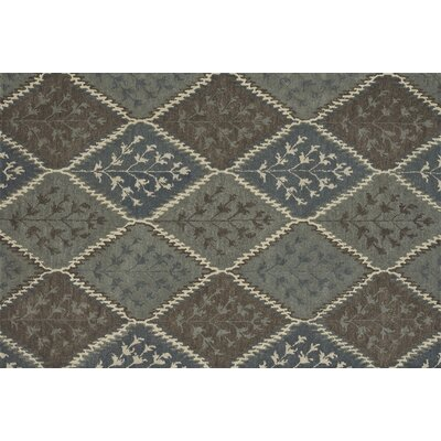 Fairfield Hand-Tufted Gray/Brown Area Rug Rug Size: 76 x 96