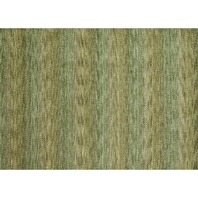 Frazier Hand-Woven Green Area Rug Rug Size: 5 x 76