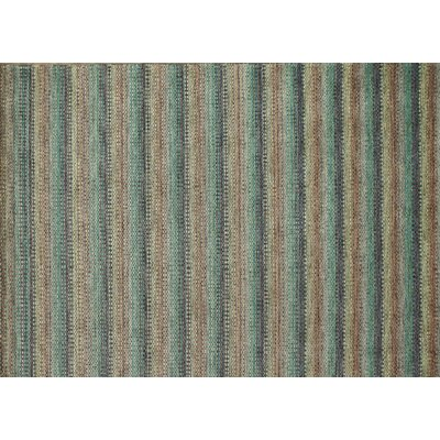 Frazier Twilight Hand-Woven Blue/Brown Area Rug Rug Size: 5 x 76