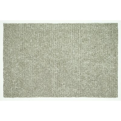 Baryzhikova Hand-Tufted Light Gray Area Rug Rug Size: Rectangle 76 x 96