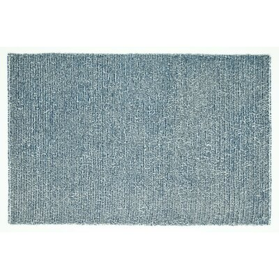 Happy Shag Hand-Tufted Denim Blue Area Rug Rug Size: Rectangle 36 x 56
